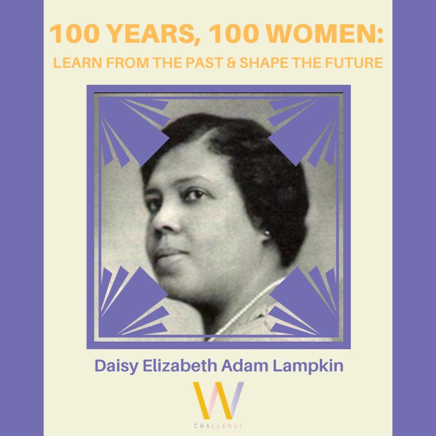 Daisy Elizabeth Adams Lampkin, 1883-1965