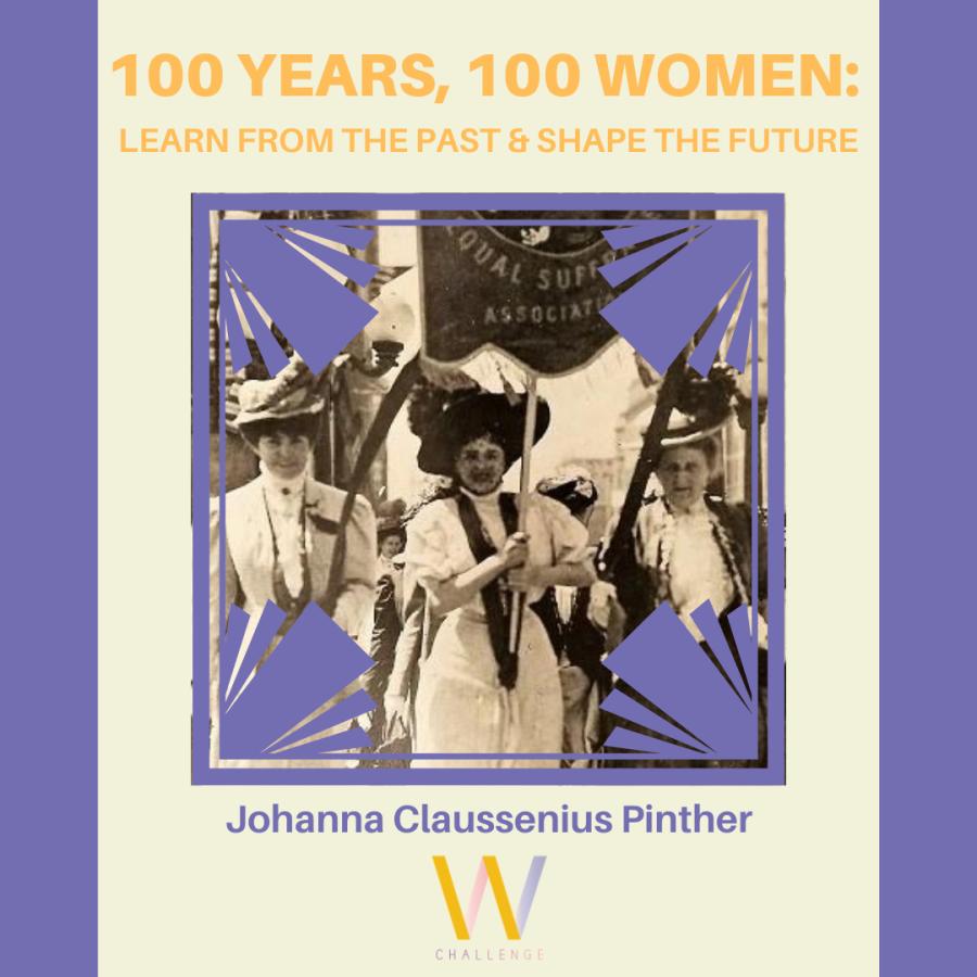 Johanna Claussenius Pinther, 1861-1938