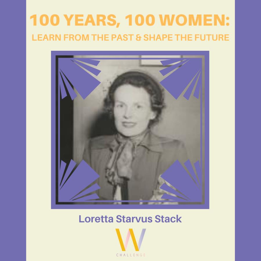 Loretta Starvus Stack, 1913-2001