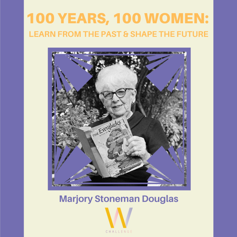 Marjory Stoneman Douglas, 1890-1998
