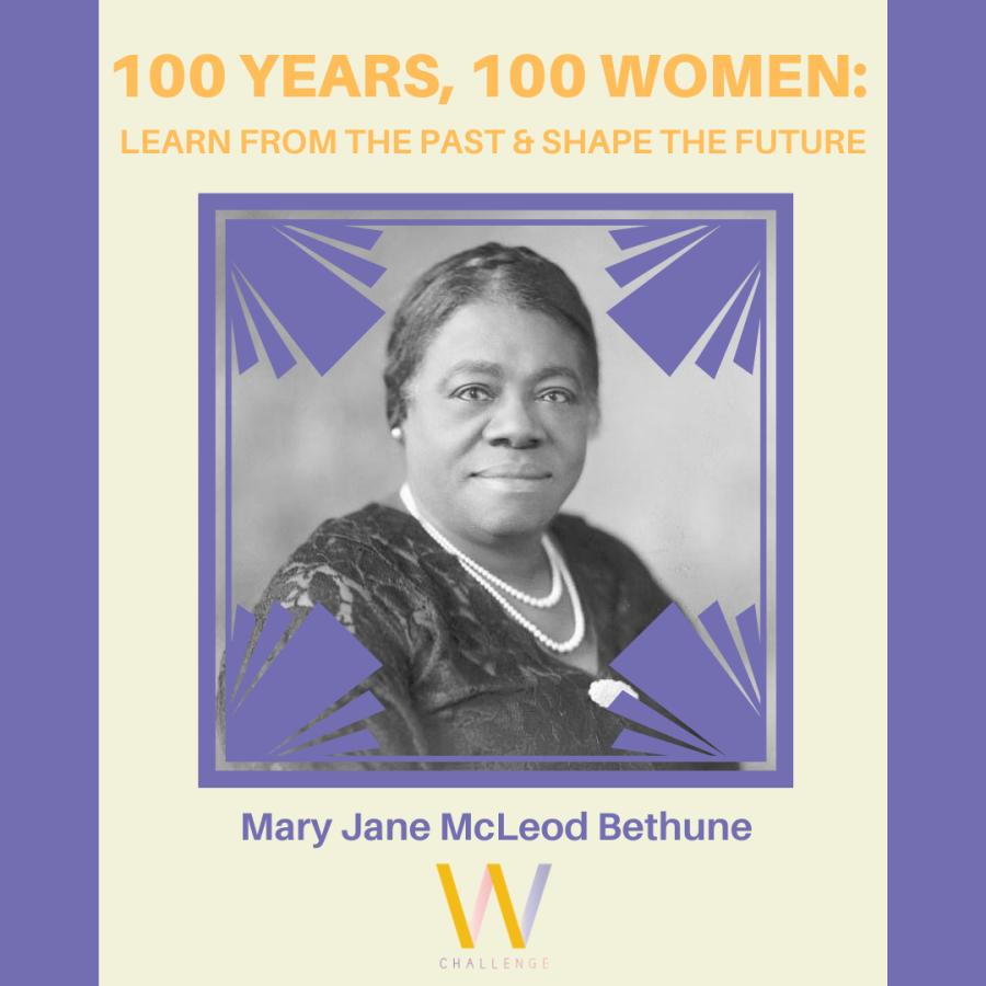 Mary Jane McLeod Bethune, 1875-1955