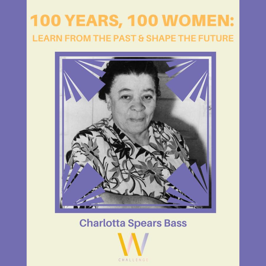 Charlotta Spears Bass, 1874-1969