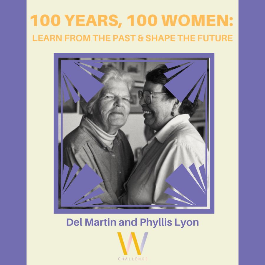 Del Martin (1921-2008) and Phyllis Lyon (1924-2020)