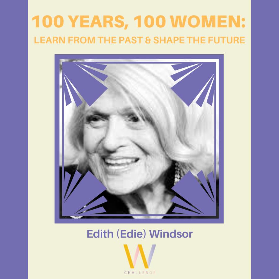 Edith (Edie) Windsor, 1929-2017