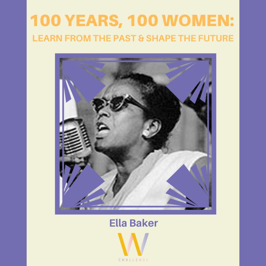 Ella Baker, 1903 - 1986