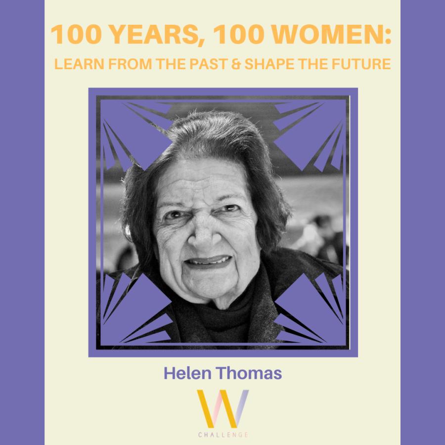 Helen Thomas, 1920-2013