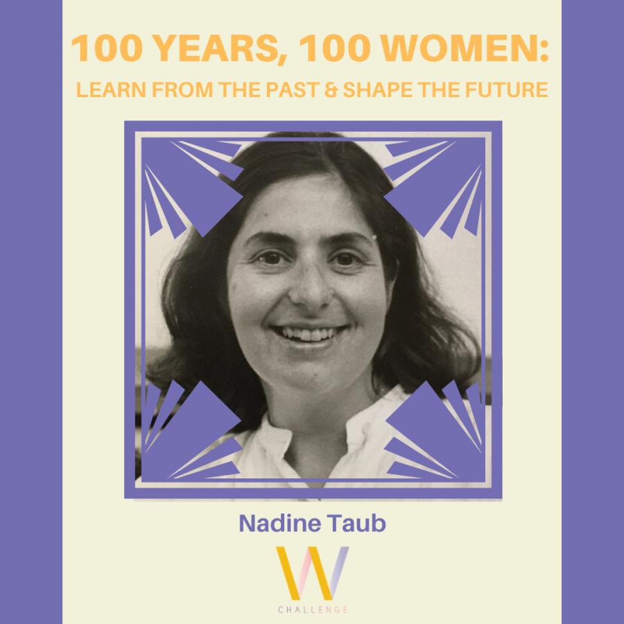 Nadine Taub, 1943-2020