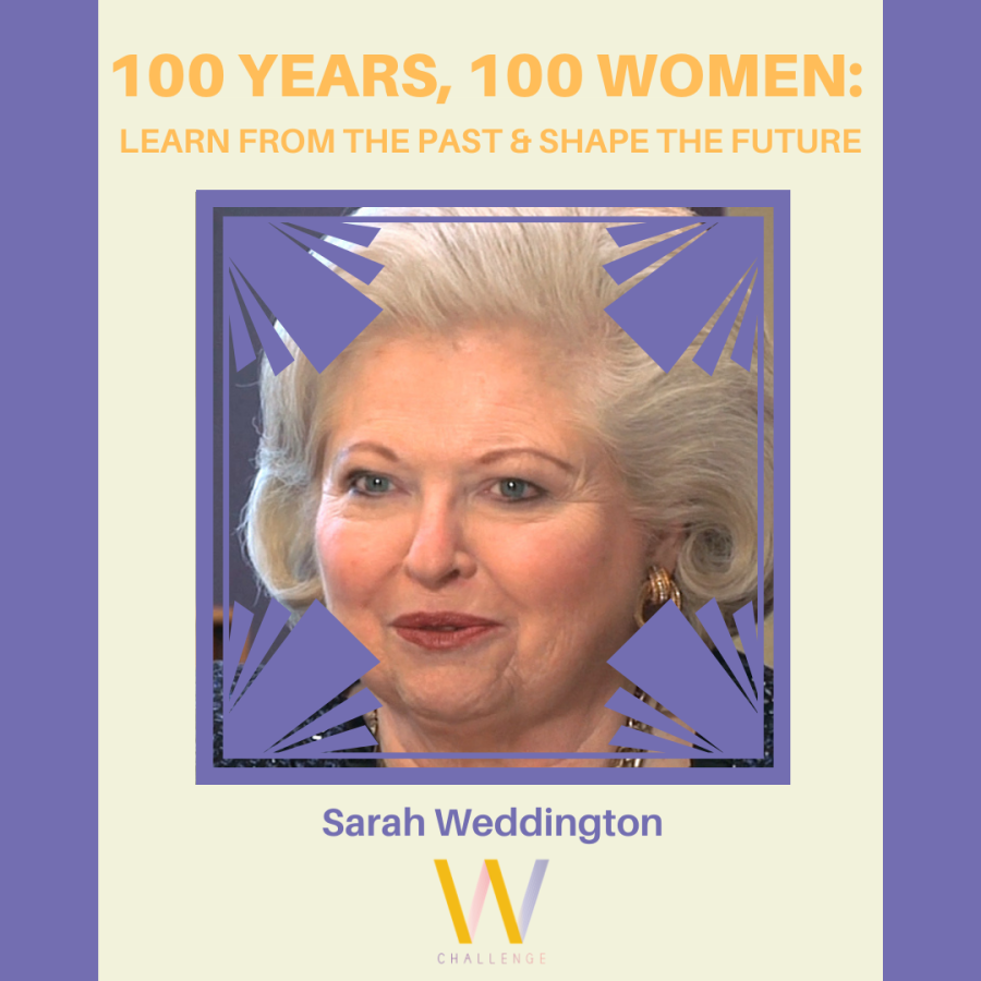 Sarah Weddington, 1945 - Present