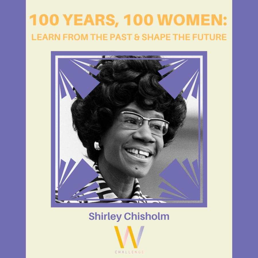Shirley Chisholm, 1924-2005