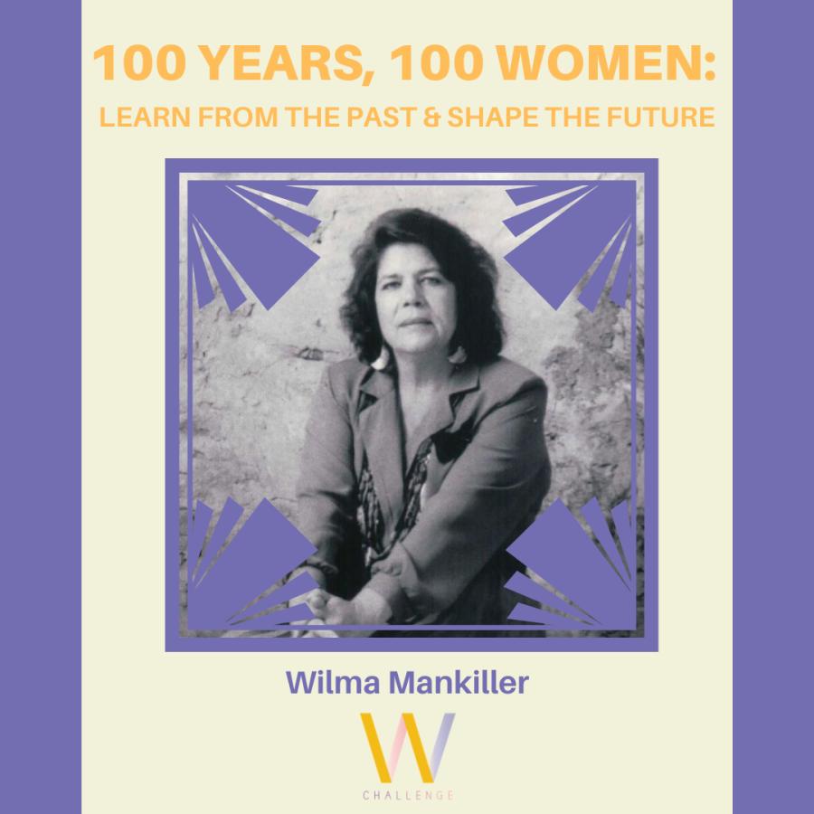 Wilma Mankiller, 1945-2010