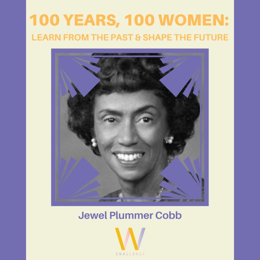 Jewel Plummber Cobb, 1924 - 2017